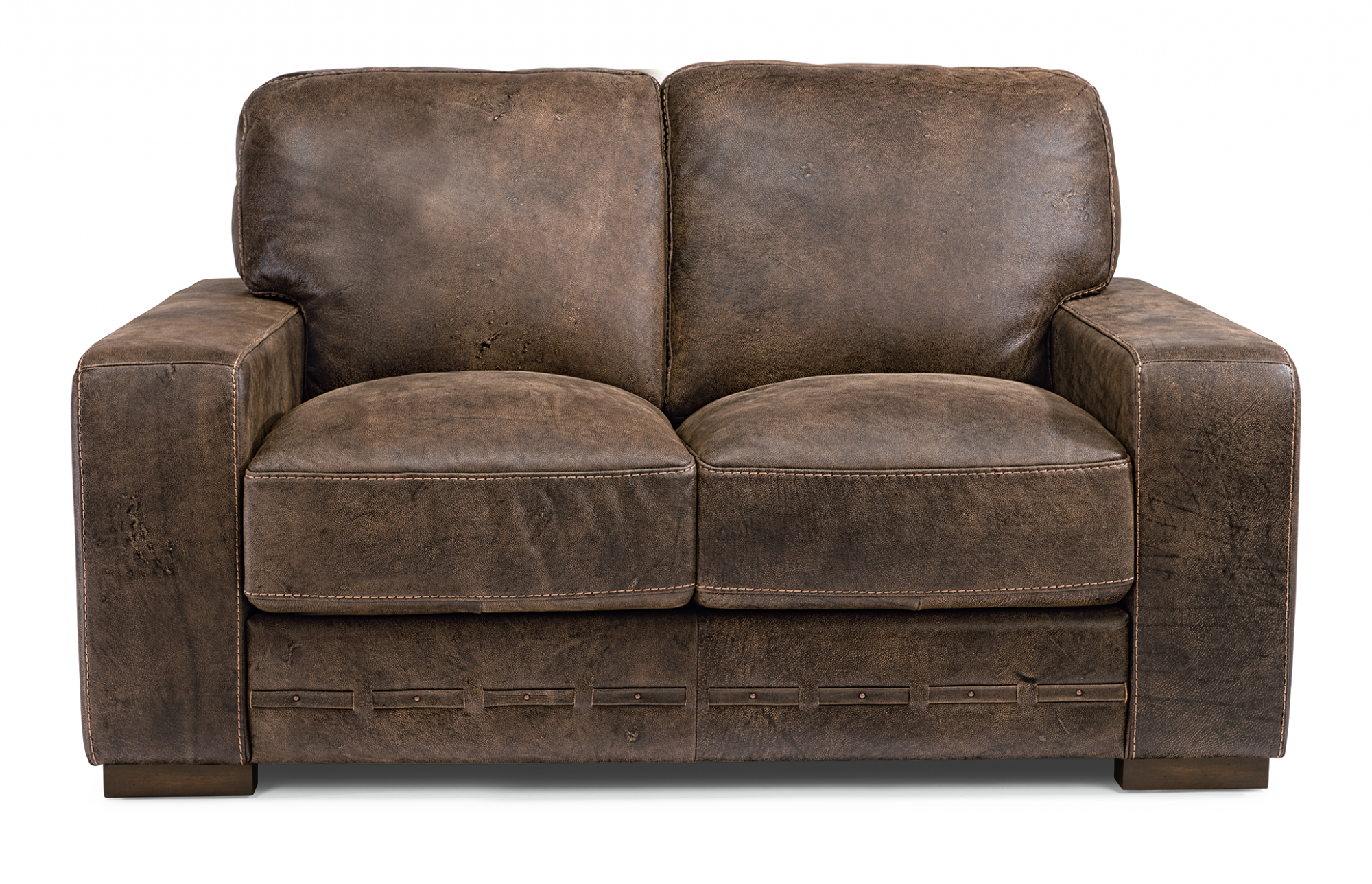 Flexsteel Buxton  Leather Loveseat