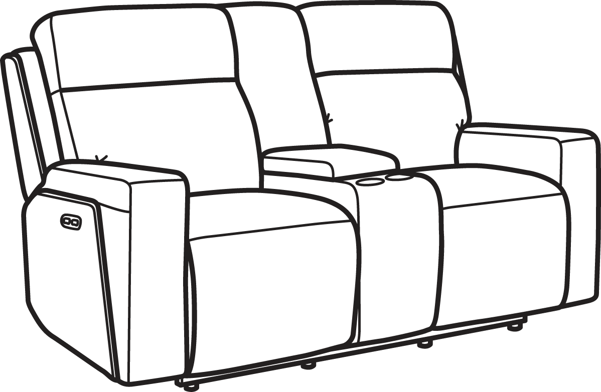 Super Flexsteel 1181 64Ph Niko Leather Power Reclining Machost Co Dining Chair Design Ideas Machostcouk