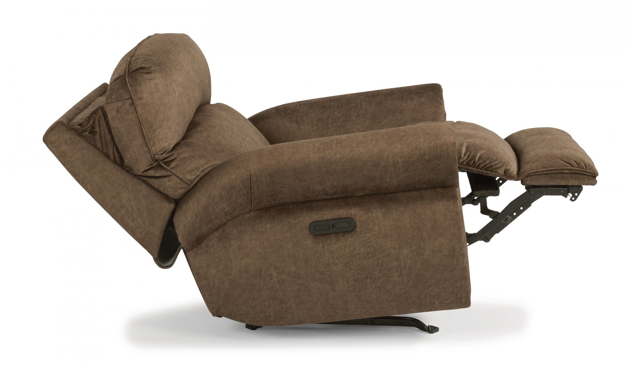 Awe Inspiring Flexsteel 4504 50H Langston Fabric Power Recliner With Unemploymentrelief Wooden Chair Designs For Living Room Unemploymentrelieforg