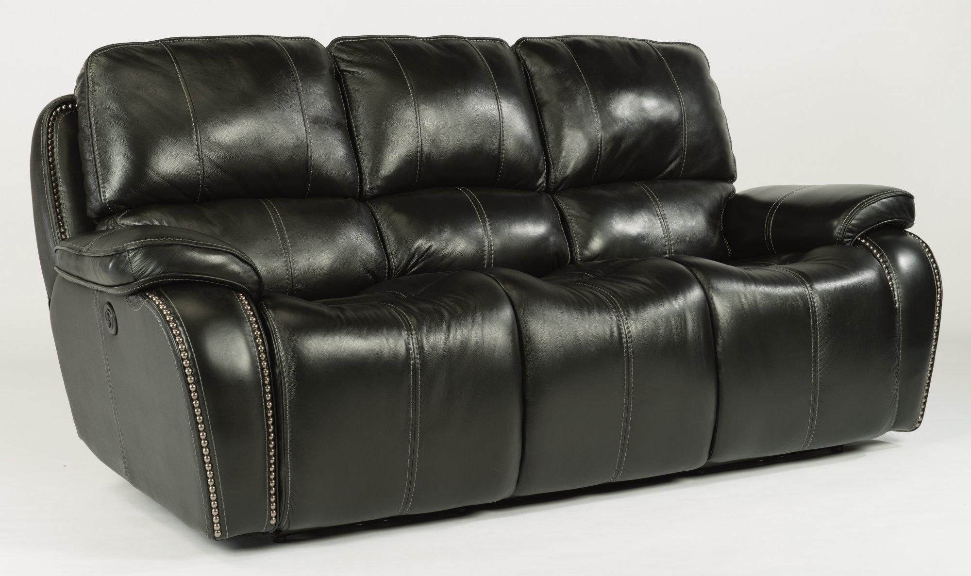Model: 1617-62P | MacKay  Leather Power Reclining Sofa