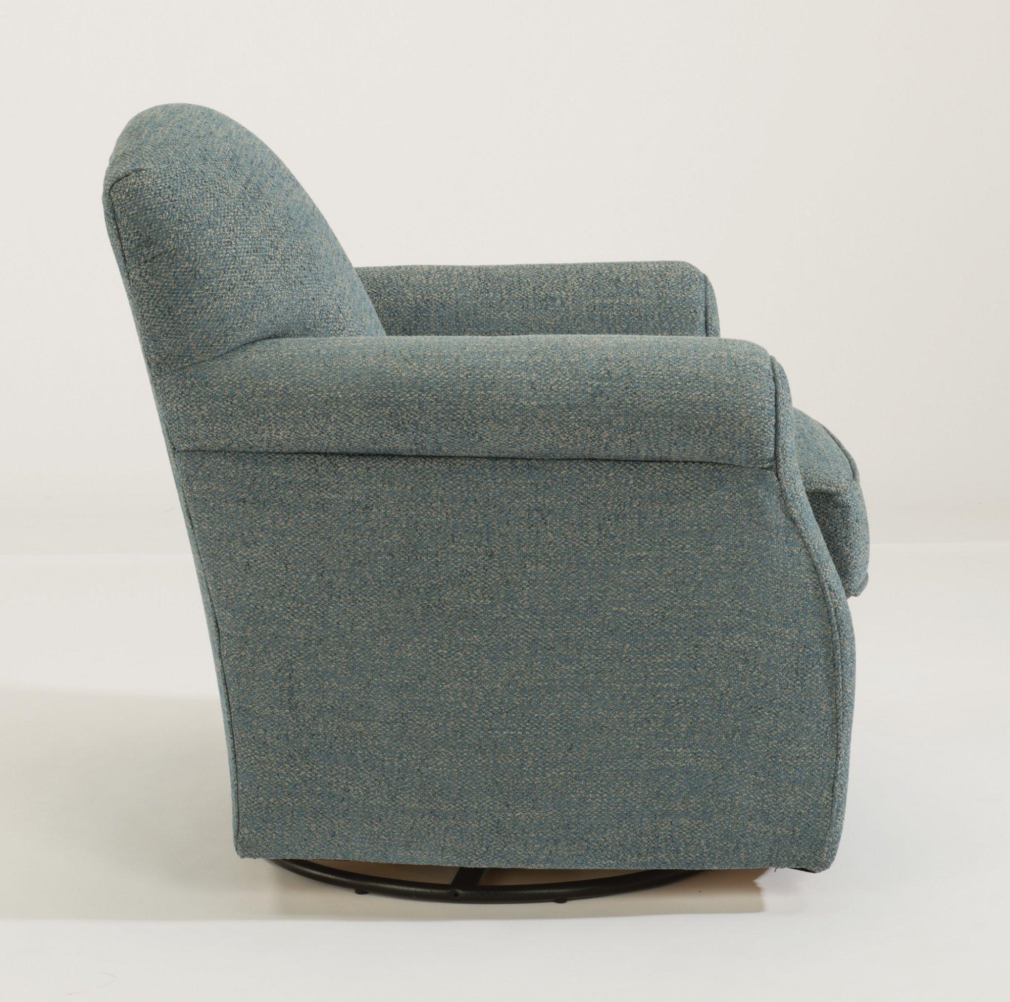 Model: 0133-11   Flexsteel Mabel  Fabric Swivel Chair