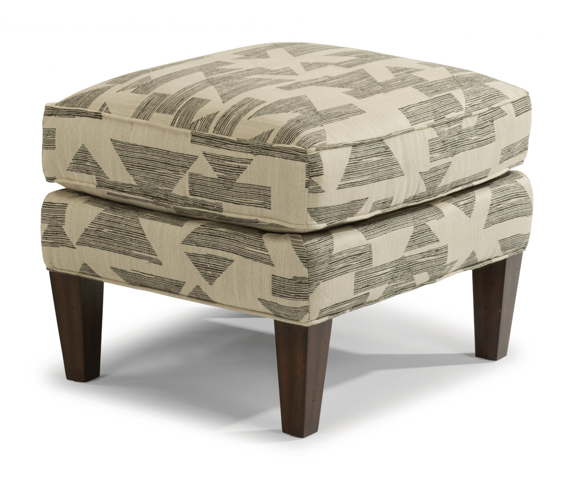 Flexsteel Ace  Fabric Ottoman