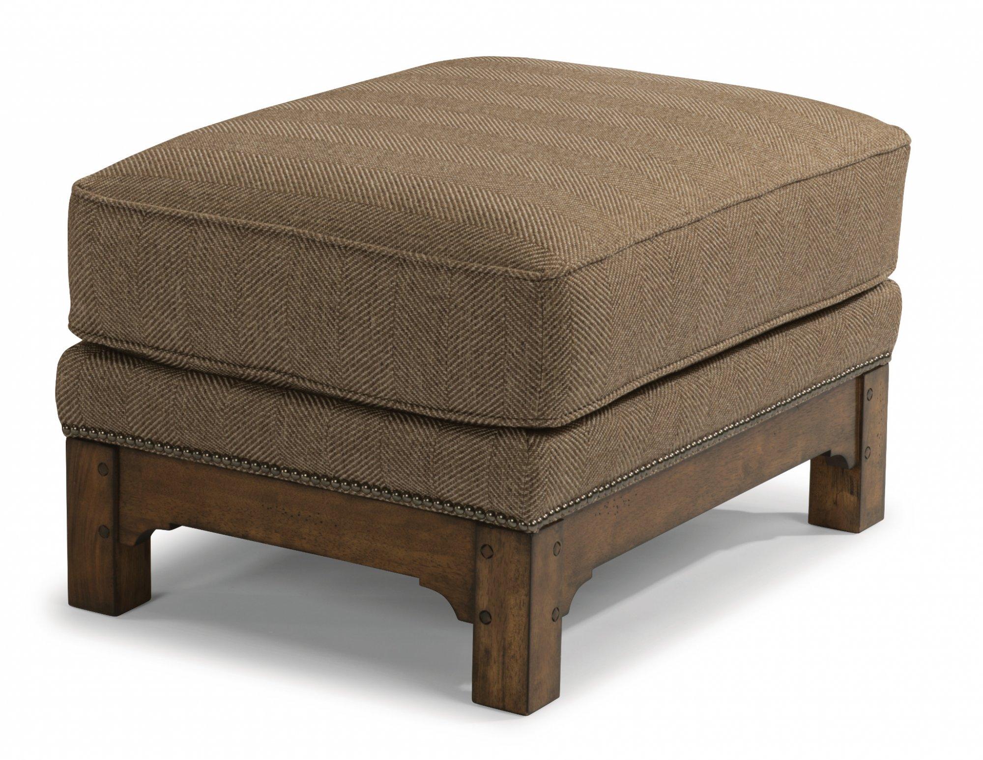 Flexsteel Sonora  Fabric Ottoman