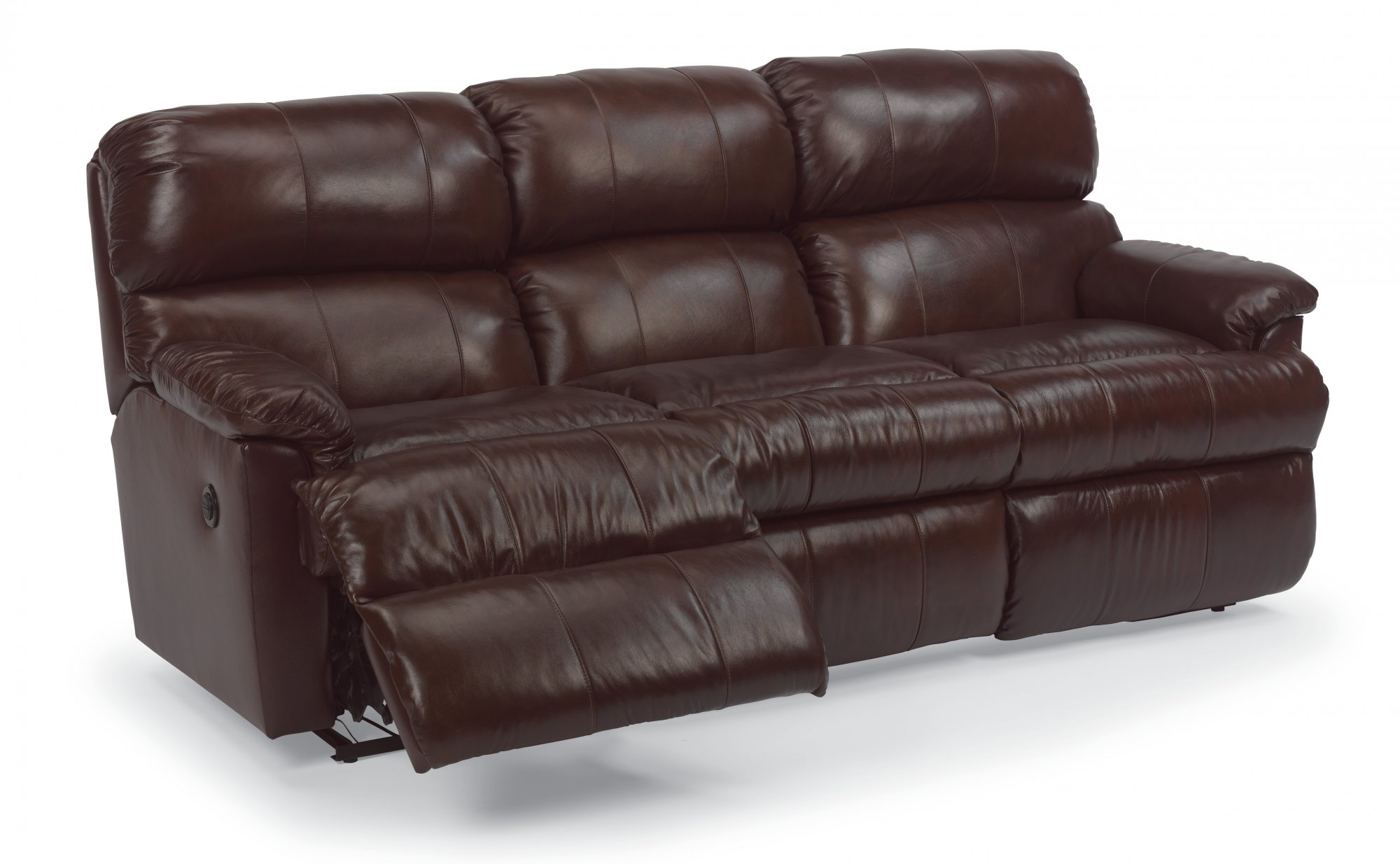 Phenomenal Flexsteel 3066 62M Chicago Leather Power Reclining Sofa Caraccident5 Cool Chair Designs And Ideas Caraccident5Info