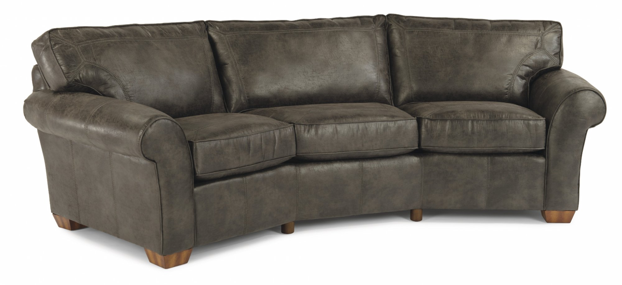 Flexsteel - 3305-323 - Vail Leather Conversation Sofa | Park ...