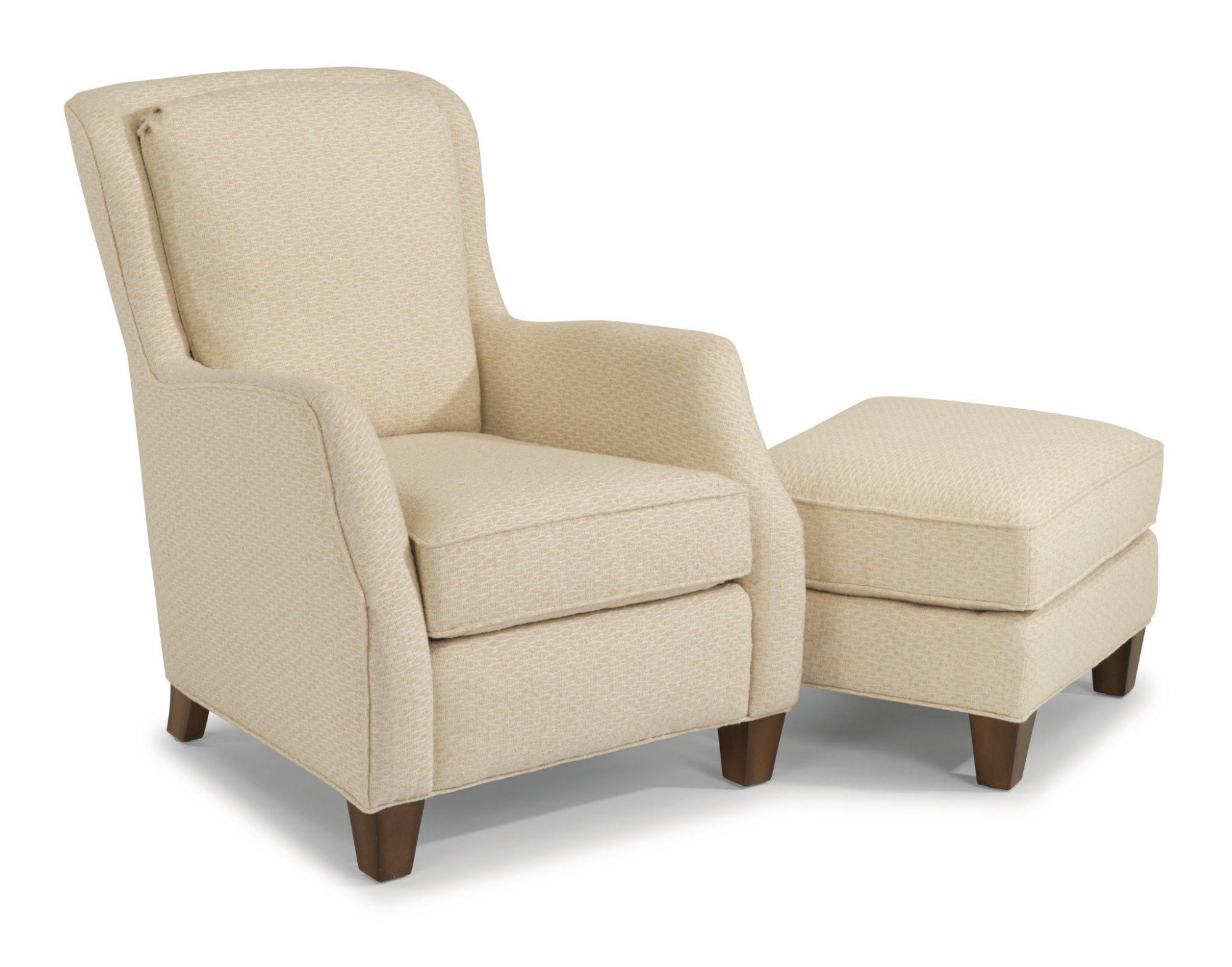 Model: 0124-10   Flexsteel Allison  Fabric Chair