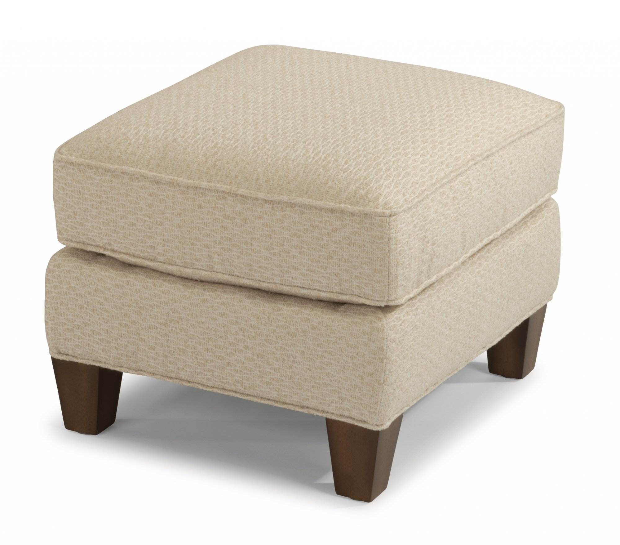 Flexsteel Allison  Fabric Ottoman