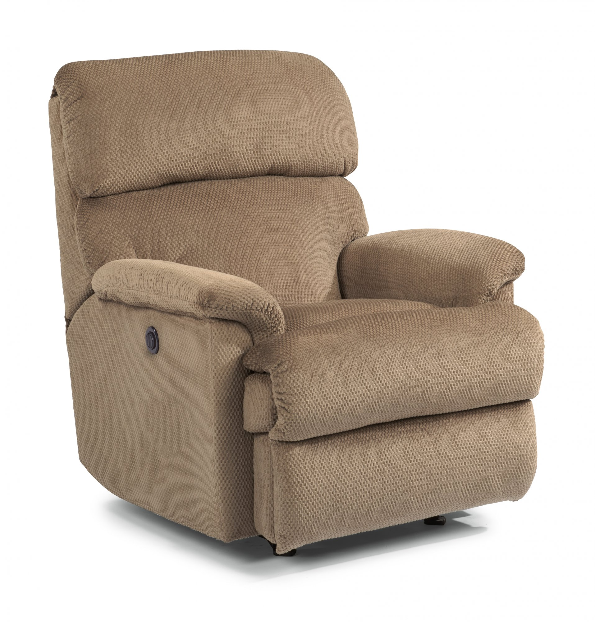 Astonishing Flexsteel 2266 500M Chicago Fabric Power Recliner Evergreenethics Interior Chair Design Evergreenethicsorg