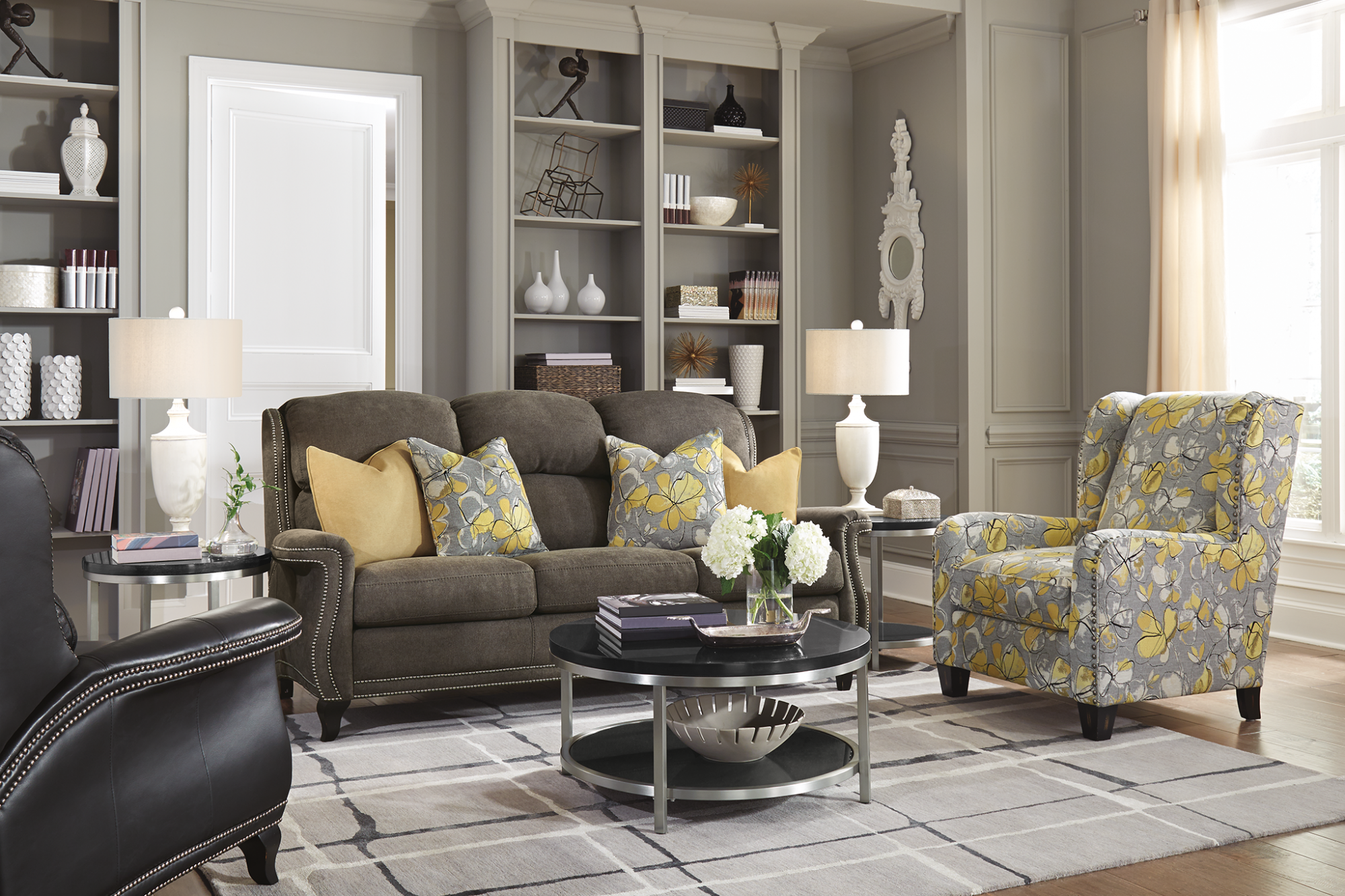 Model: 0112-10 | Flexsteel Perth  Fabric Chair