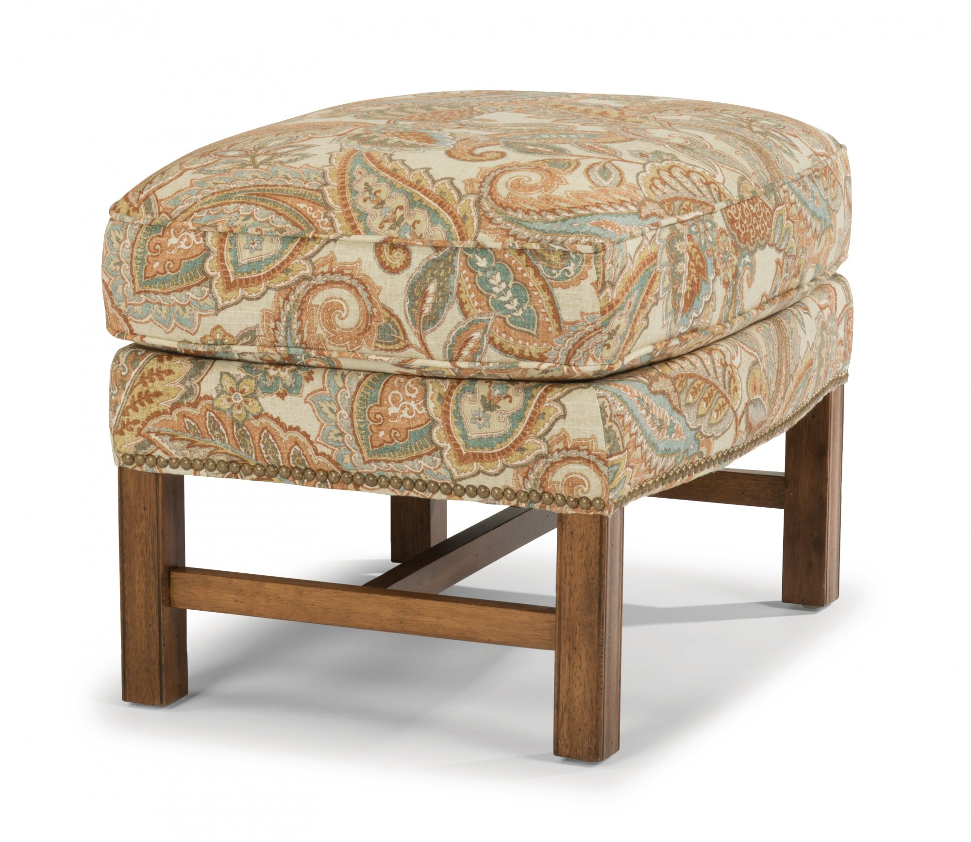 Flexsteel Chancellor  Fabric Ottoman