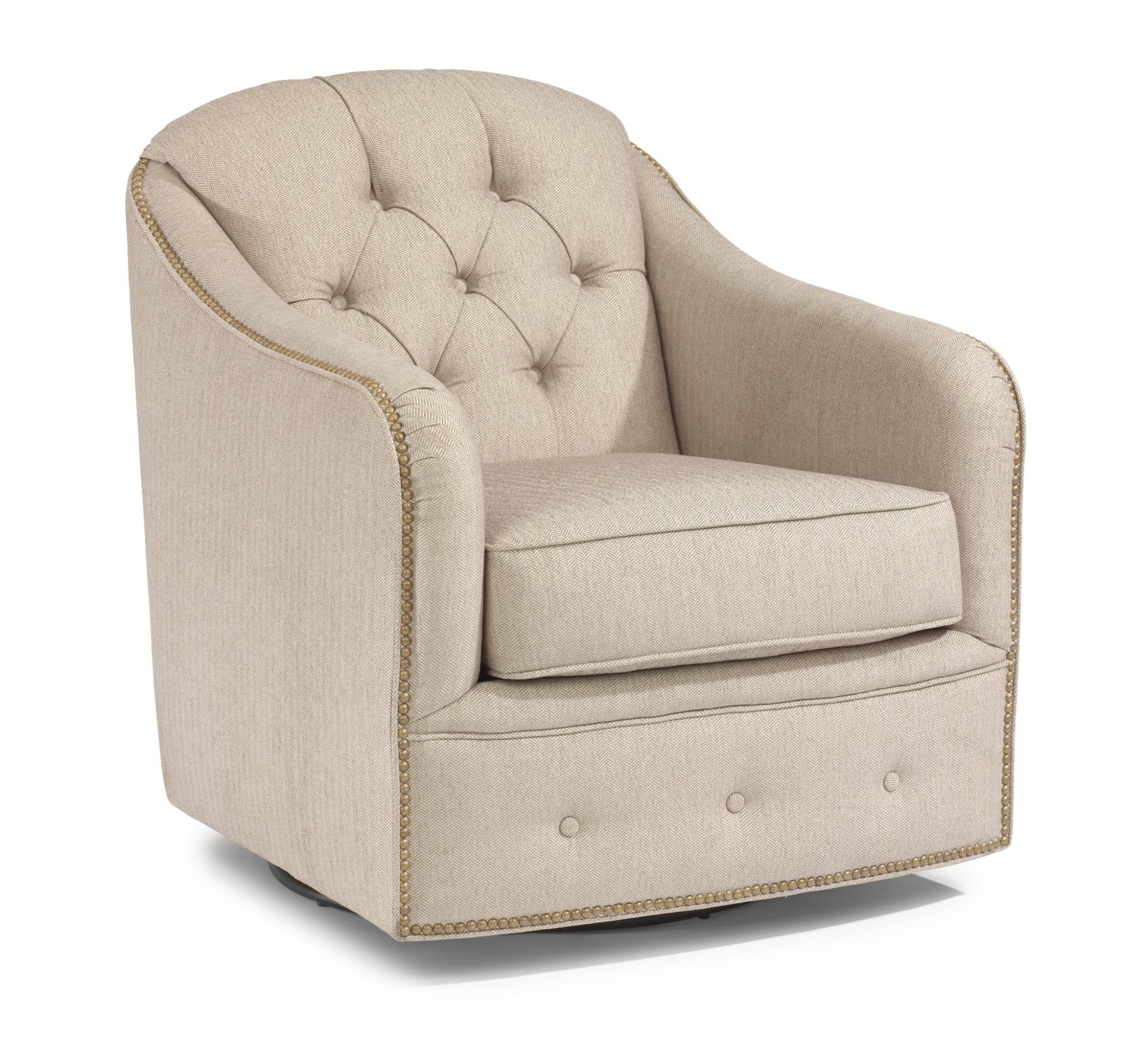 Flexsteel Fairchild  Fabric Swivel Chair
