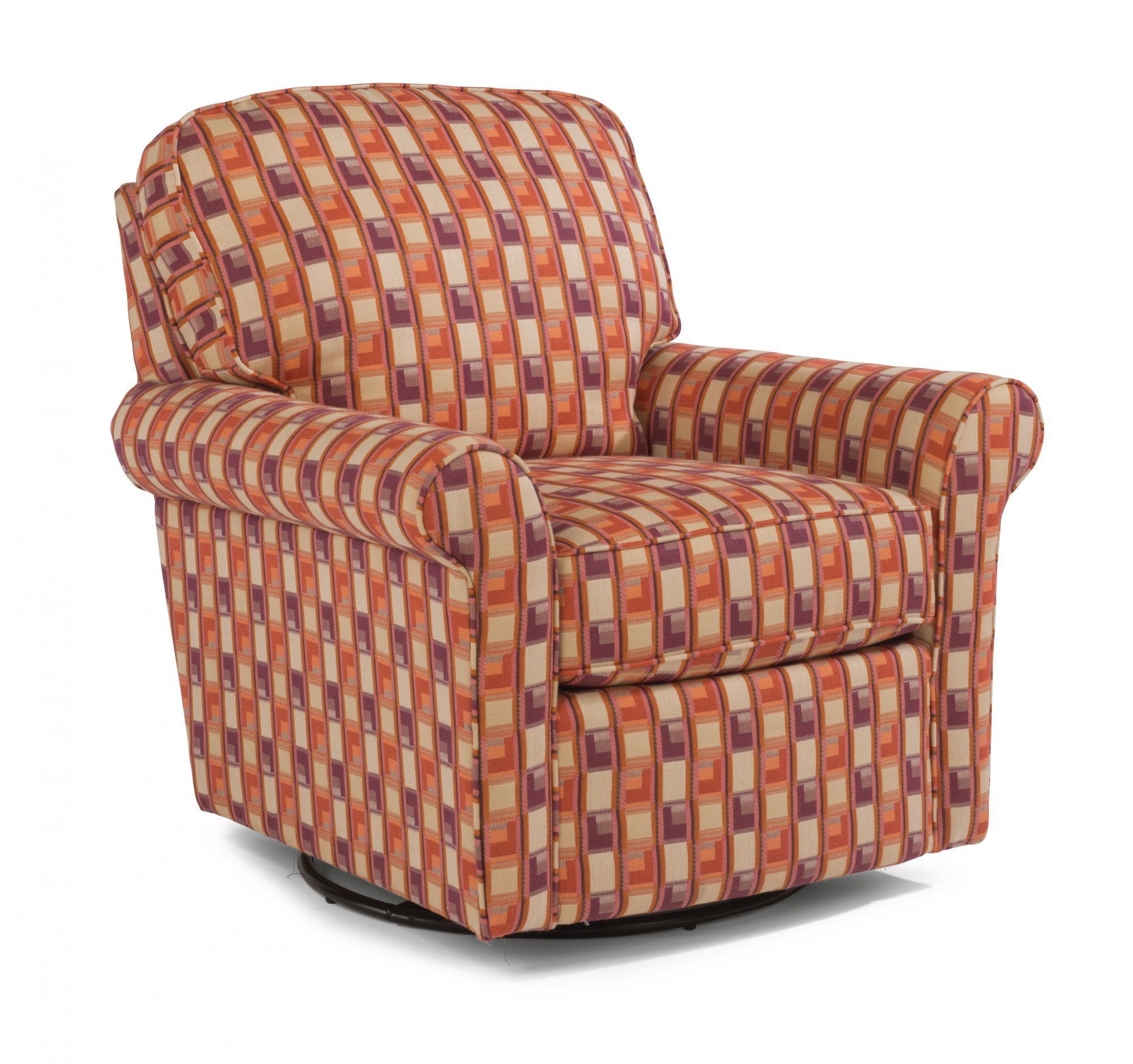 Flexsteel Parkway  Fabric Swivel Glider