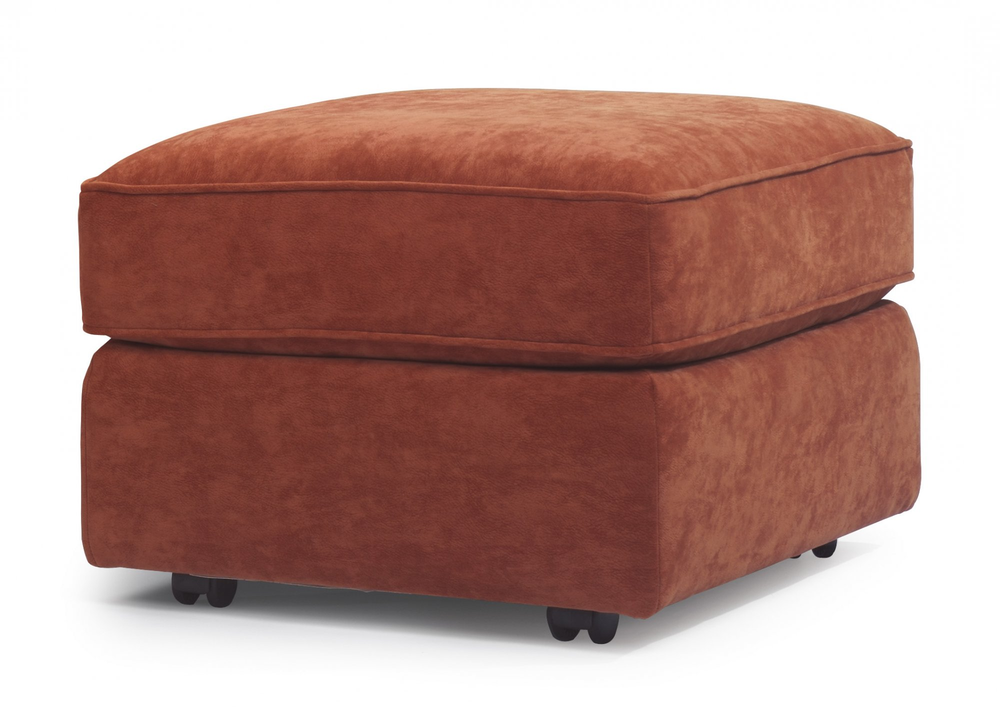 Flexsteel Vail  Leather Ottoman