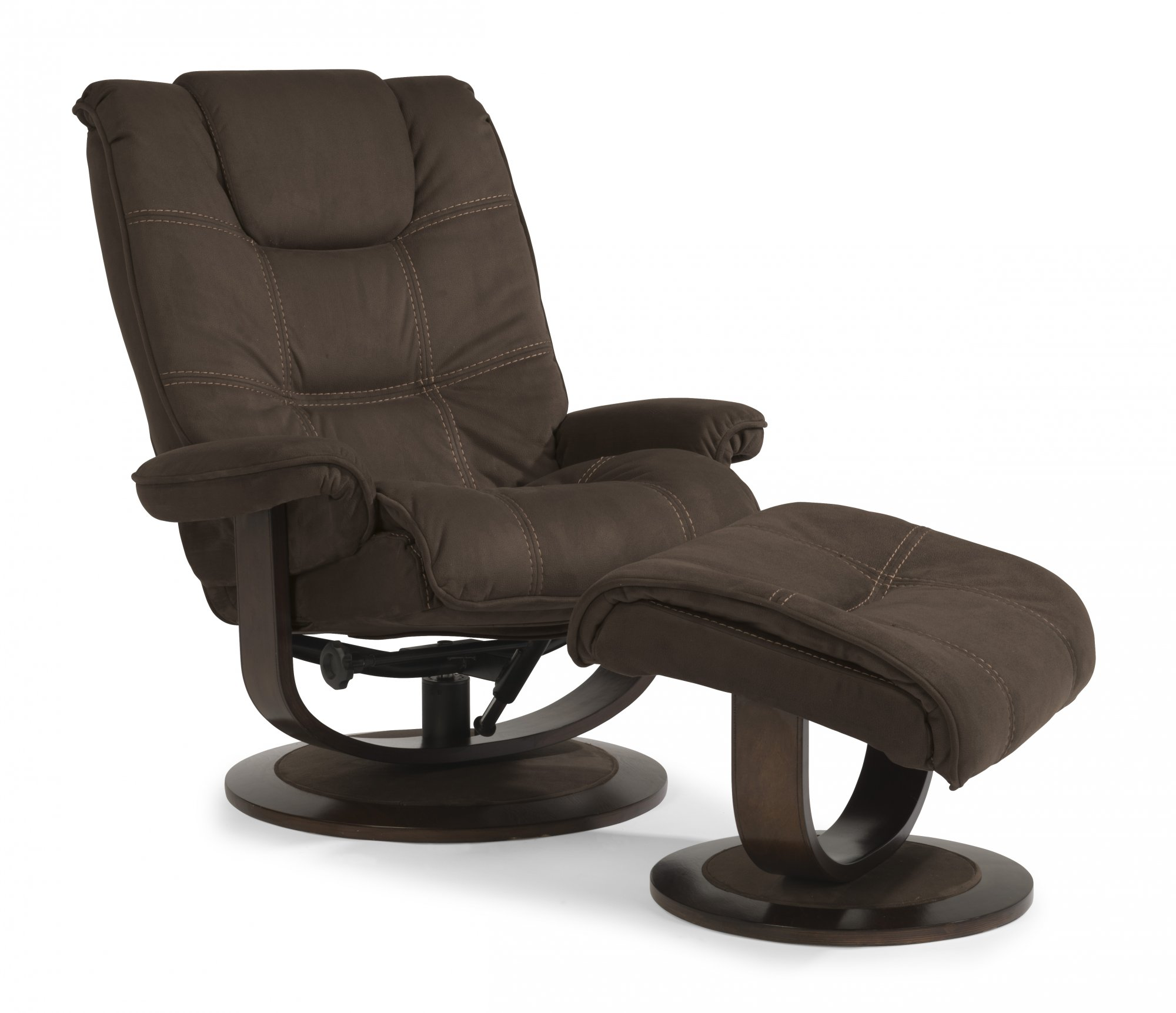 Flexsteel Spencer  Fabric Chair and Ottoman
