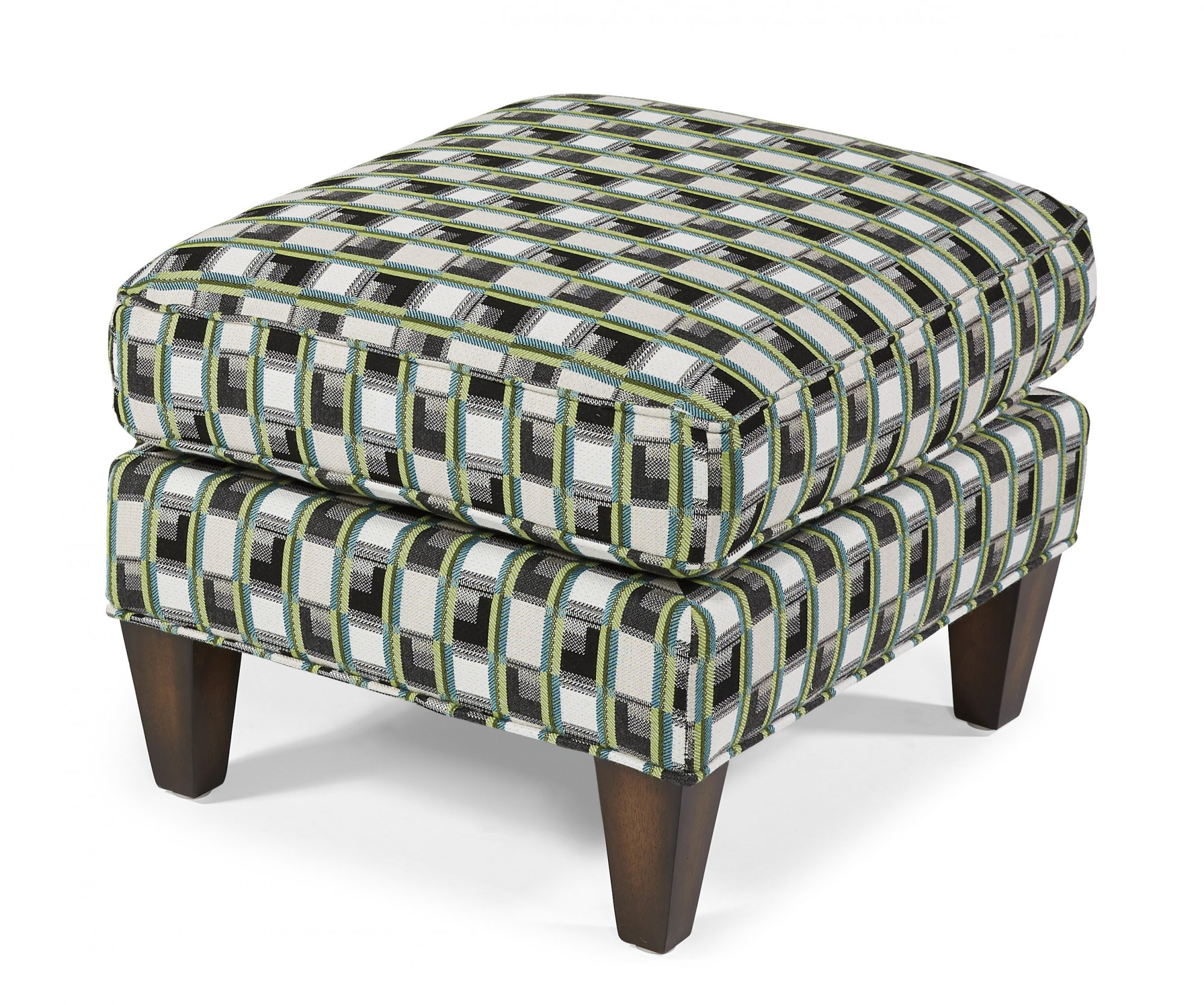 Flexsteel Harvard  Fabric Ottoman