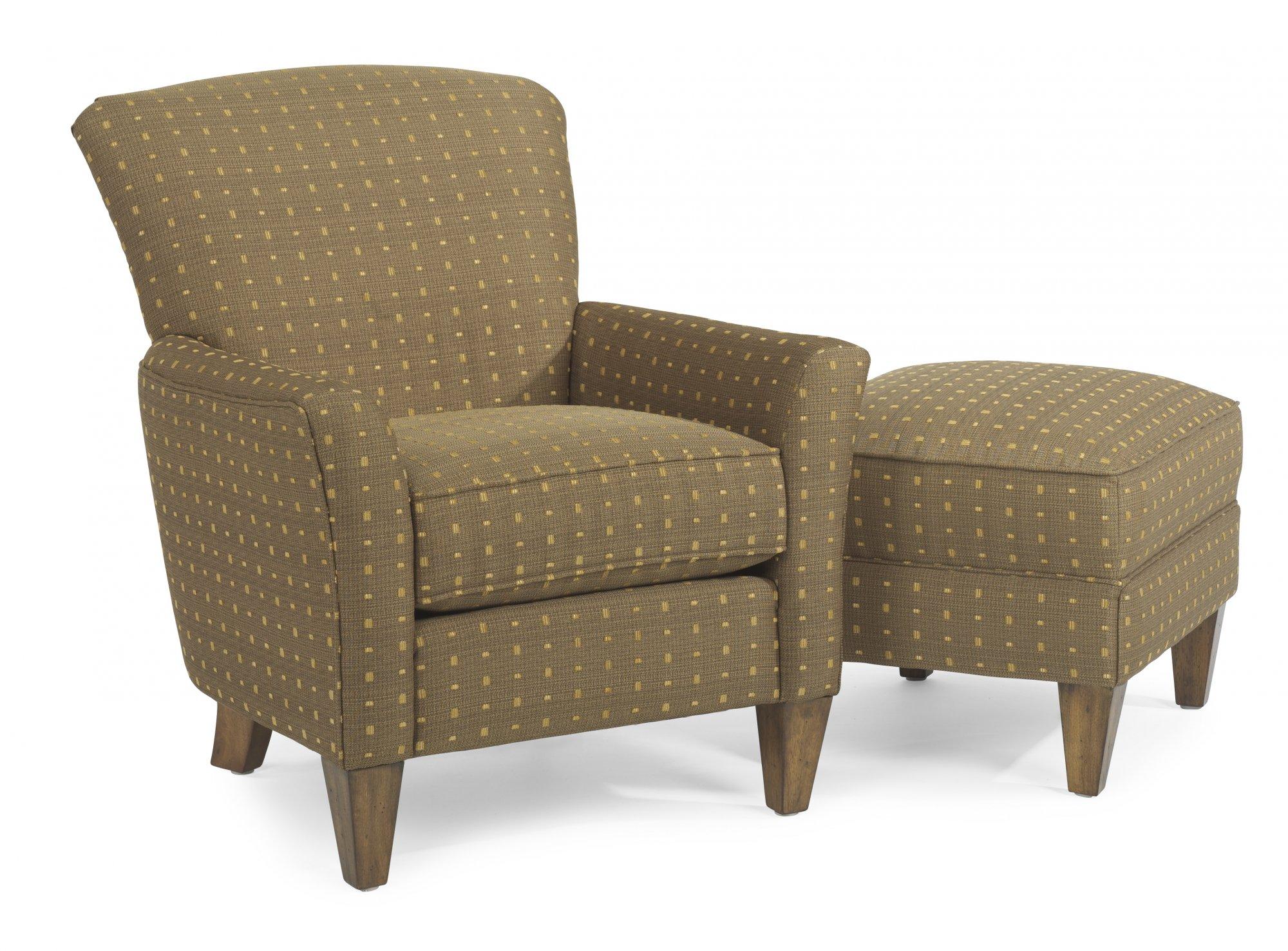 Model: 011C-10   Flexsteel Dancer  Fabric Chair