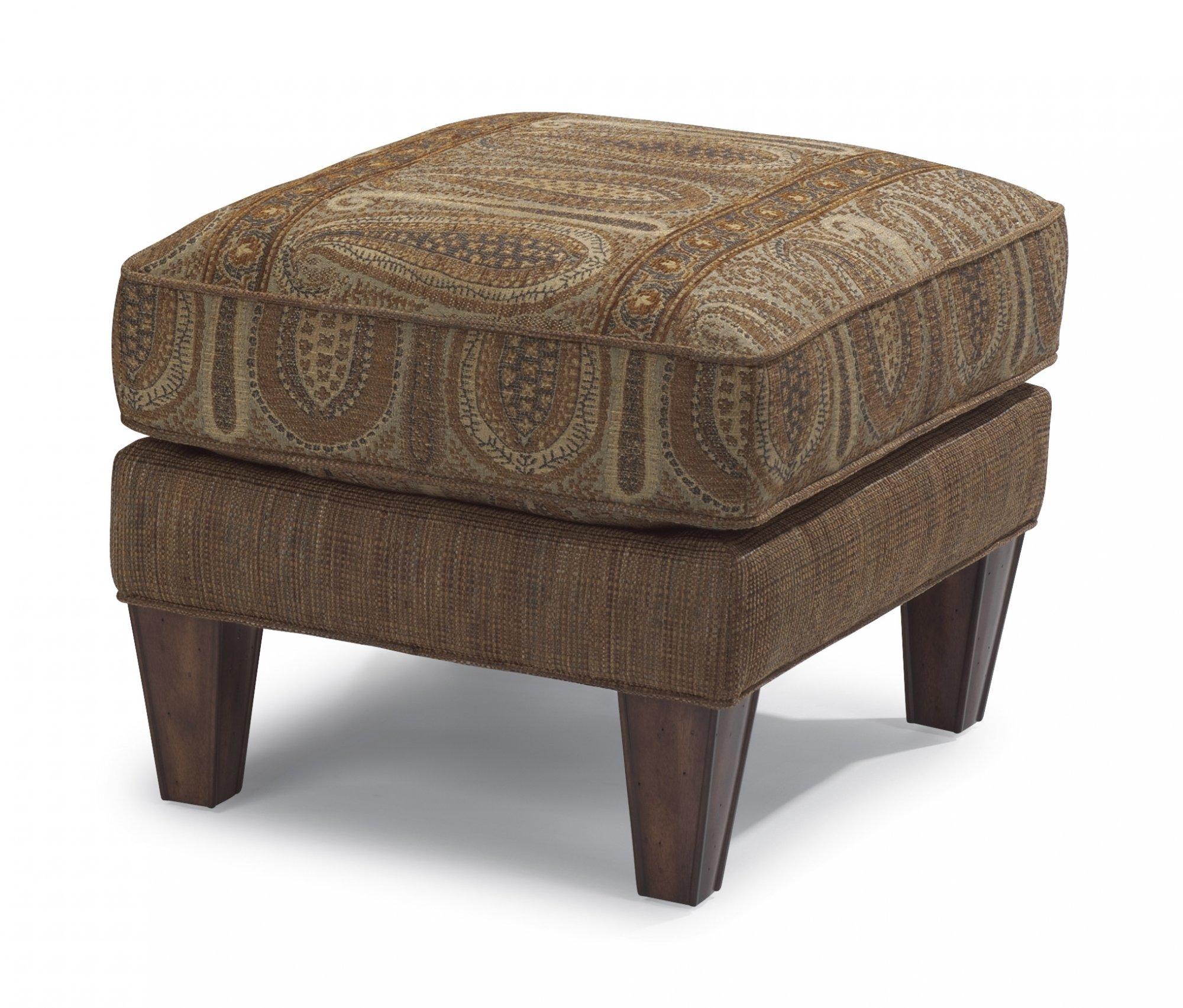 Flexsteel Bradstreet  Fabric Ottoman