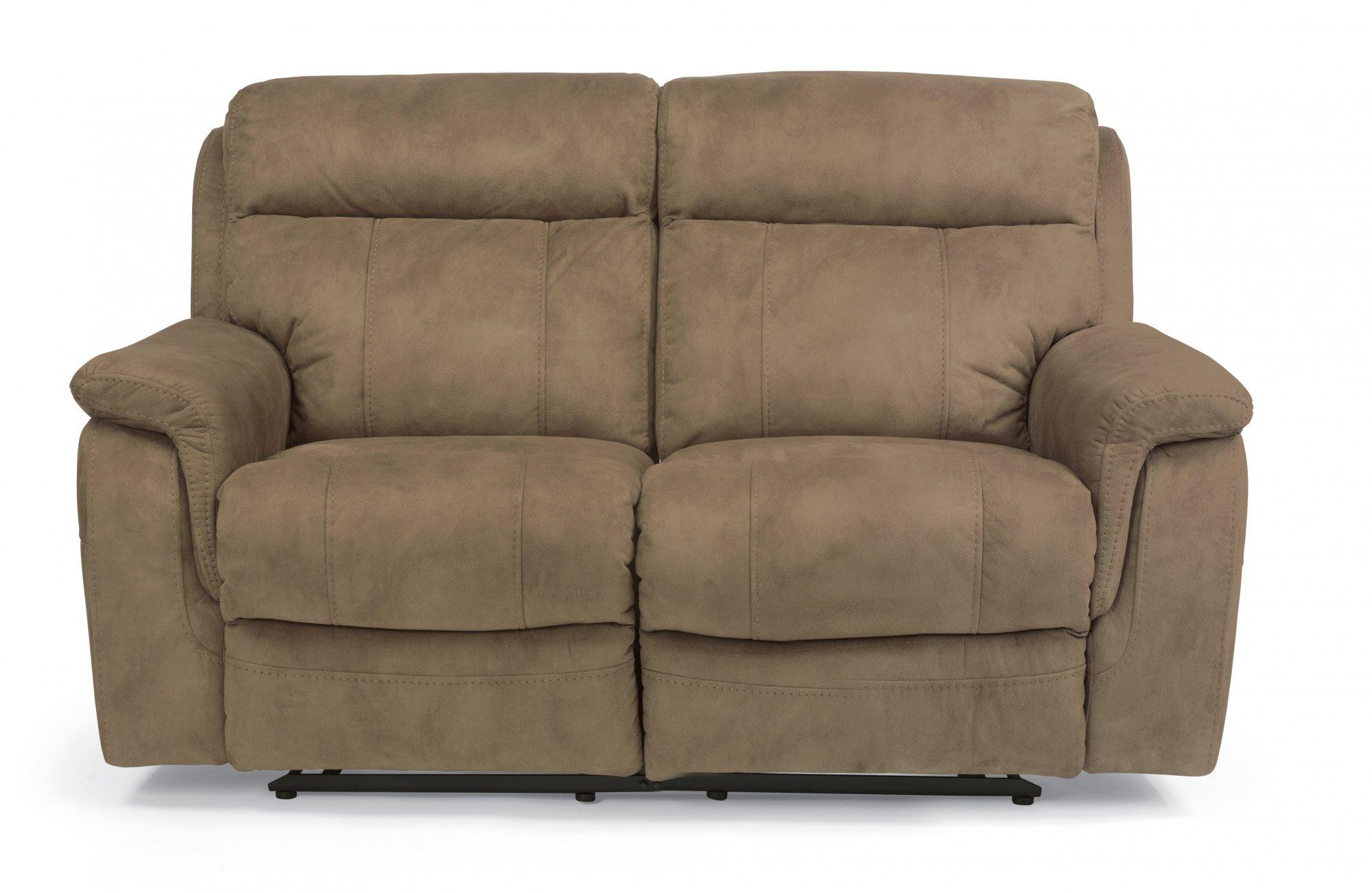 Outstanding Flexsteel 1425 60 Casino Fabric Reclining Loveseat Andrewgaddart Wooden Chair Designs For Living Room Andrewgaddartcom