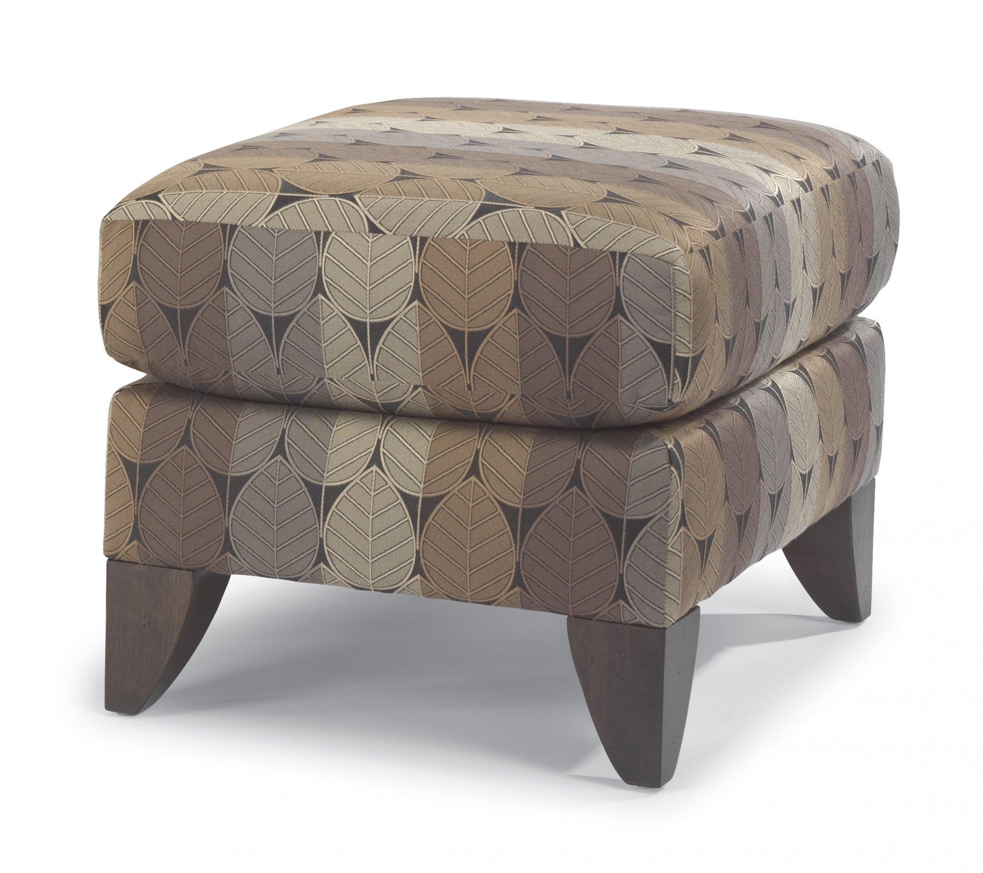 Flexsteel Jupiter  Fabric Ottoman
