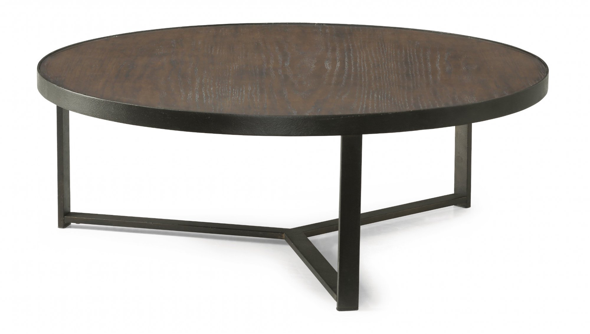 Flexsteel Carmen  Large Round Bunching Coffee Table