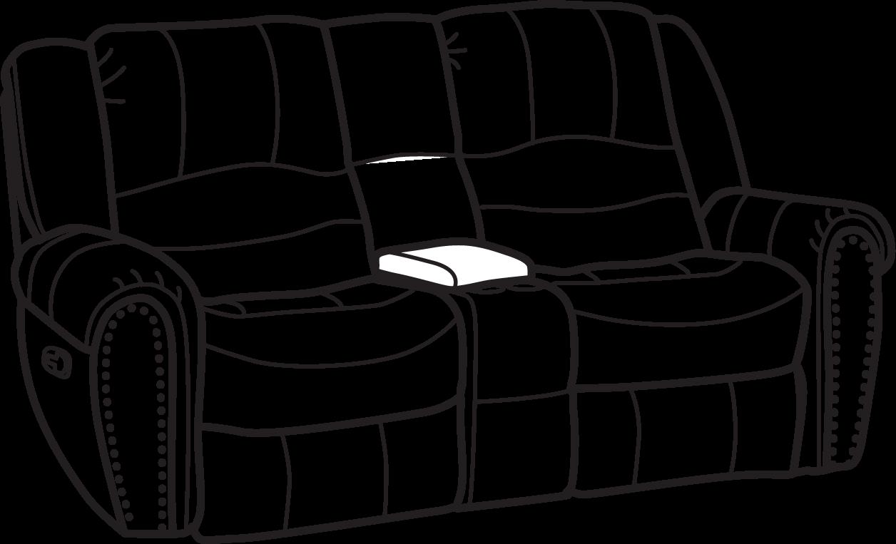 Peachy Flexsteel 1410 604 New Town Fabric Gliding Reclining Uwap Interior Chair Design Uwaporg