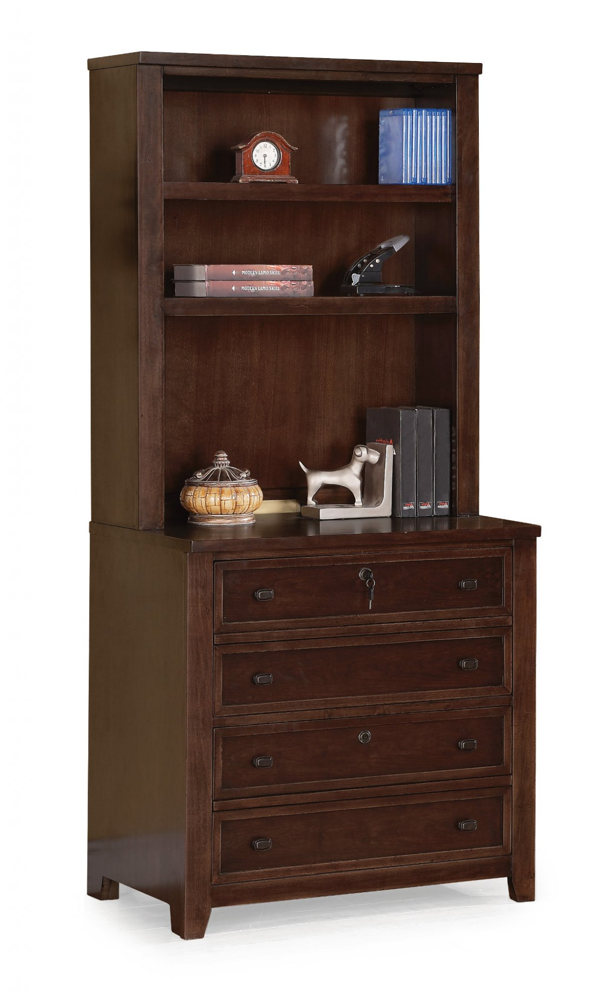 Flexsteel W1287 746 Theodore Bookcase Hutch Reese