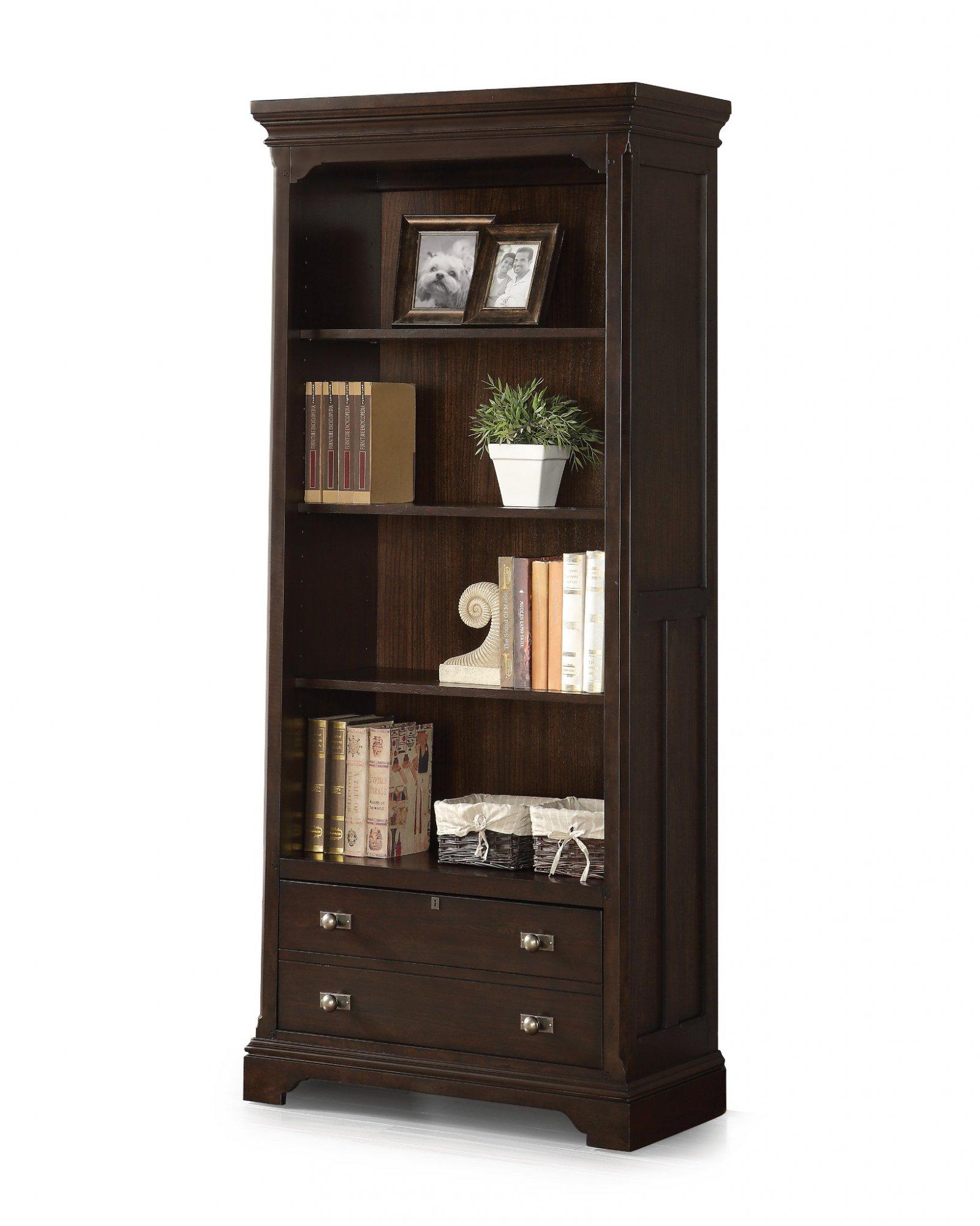 Flexsteel Walnut Creek  File Bookcase