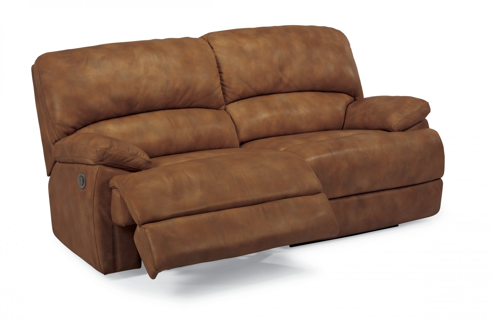 Flexsteel - 1927-62P - Dylan Leather Two-Cushion Power ...