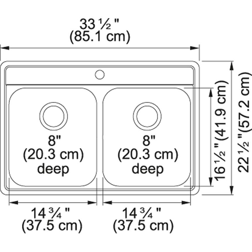 Evolution EVDAS801-20 Stainless Steel