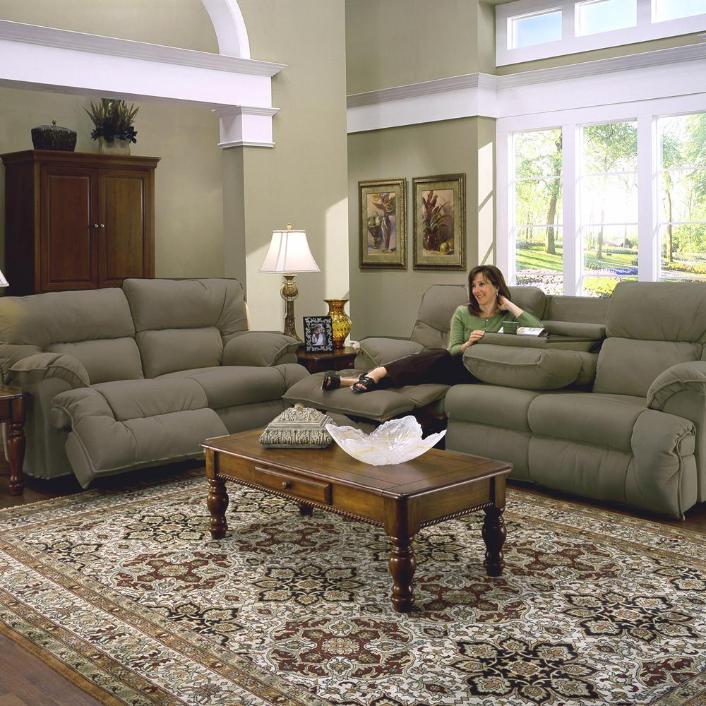 Sensational Franklin 64644 Reclining Sofa W Drop Down Table R W Cjindustries Chair Design For Home Cjindustriesco