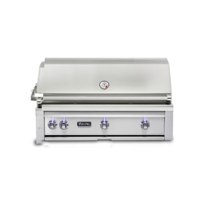 "Model: VQGI5420LSS | Viking 42"" BUILT-IN GRILL W/PROSEAR BURNER & ROTISSERIE (L42PSR-2)"