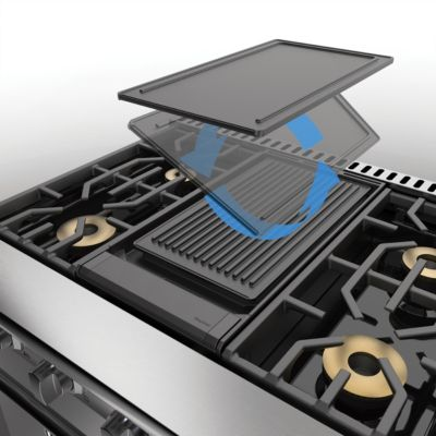 REVERSIBLE GRILL/GRIDDLE FOR VGR/VDR GRIDDLE RANGES