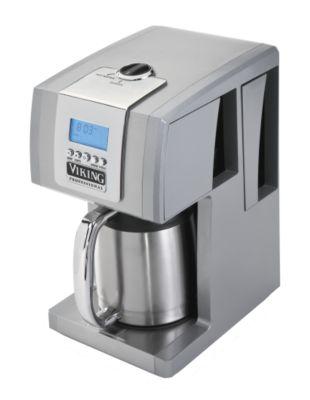 Coffee Maker_12 cup Metallic Silver