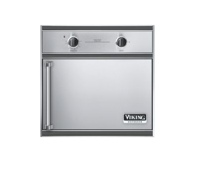 OUTDOOR ELECTRIC SMOKER OVEN - SS