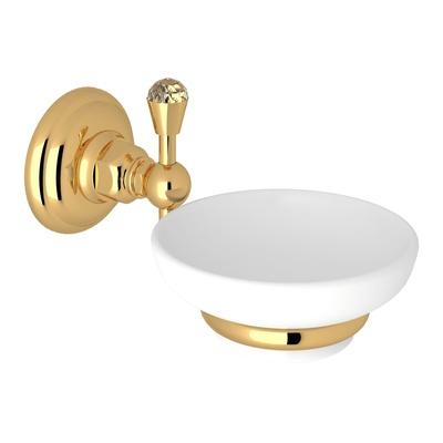 ROHL Italian Bath Swarovski® Crystal Wall Mount Soap Dish