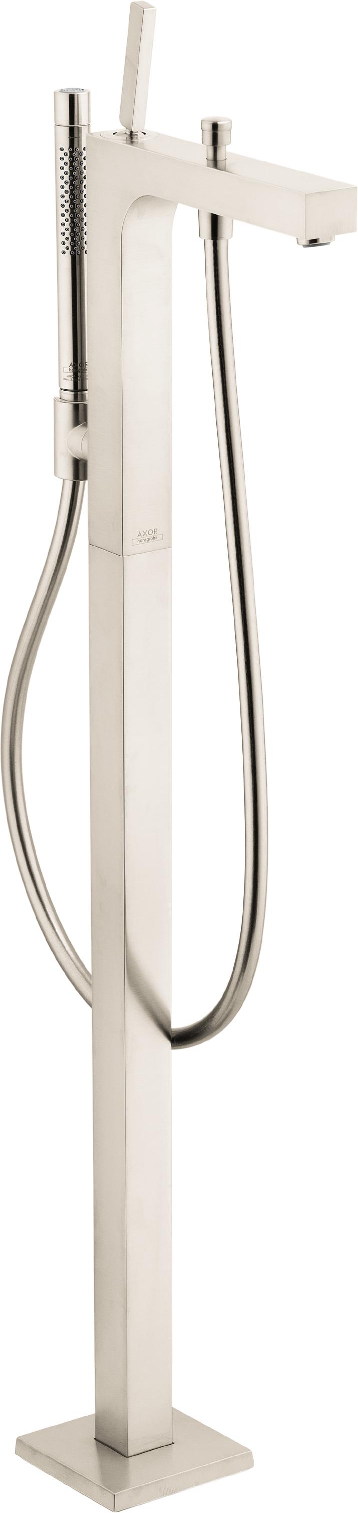Axor AXOR Citterio Freestanding Tub Filler Trim with 1.75 GPM Handshower