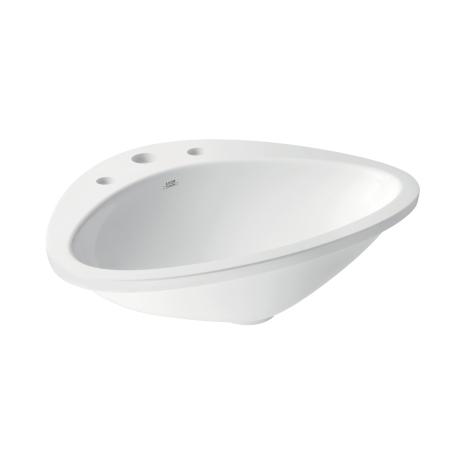 Axor Axor Massaud 3-Hole Drop-In Sink