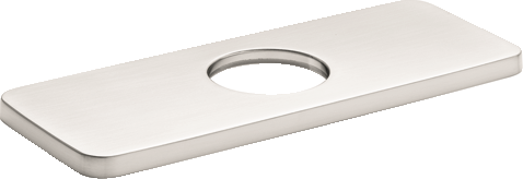 Hansgrohe Base Plate for Modern Single-Hole Faucets, 6""