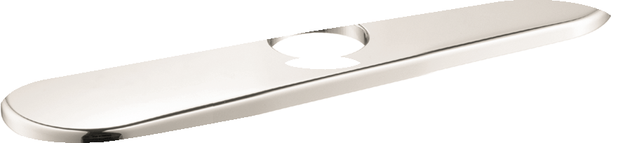 Hansgrohe Base Plate for Single-Hole Kitchen Faucets, 10""