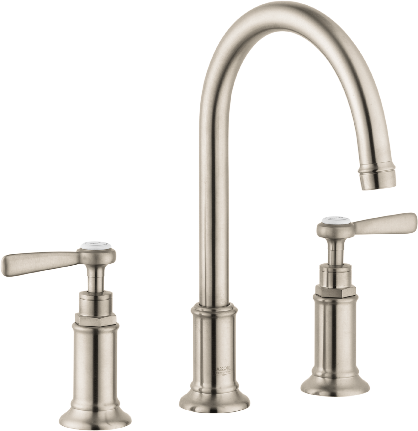 Axor AXOR Montreux Widespread Faucet with Lever Handles, 1.2 GPM