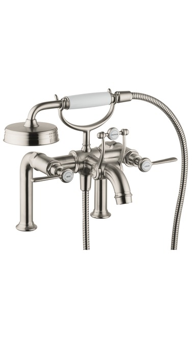 Axor Axor Montreux Rim-Mounted Tub Filler with Lever Handles