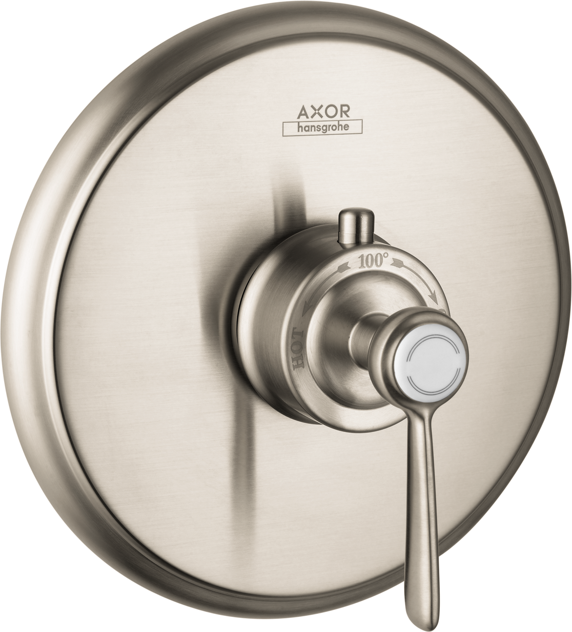 Axor AXOR Montreux Thermostatic Trim with Lever Handle, Highflow