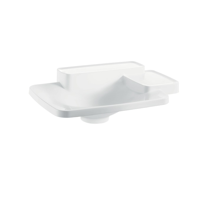 Axor Axor Bouroullec Drop-In Washbasin with Two Shelves, Small