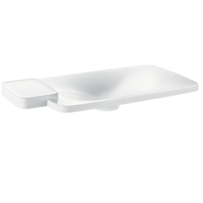 Axor Axor Bouroullec Drop-In Washbasin with One Shelf, Large