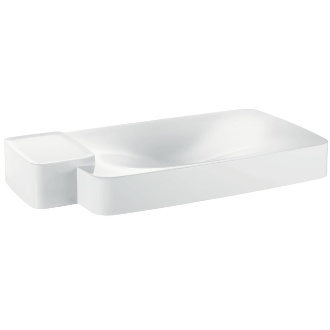 Axor Axor Bouroullec Wall-Mounted Washbasin with One Shelf, Large