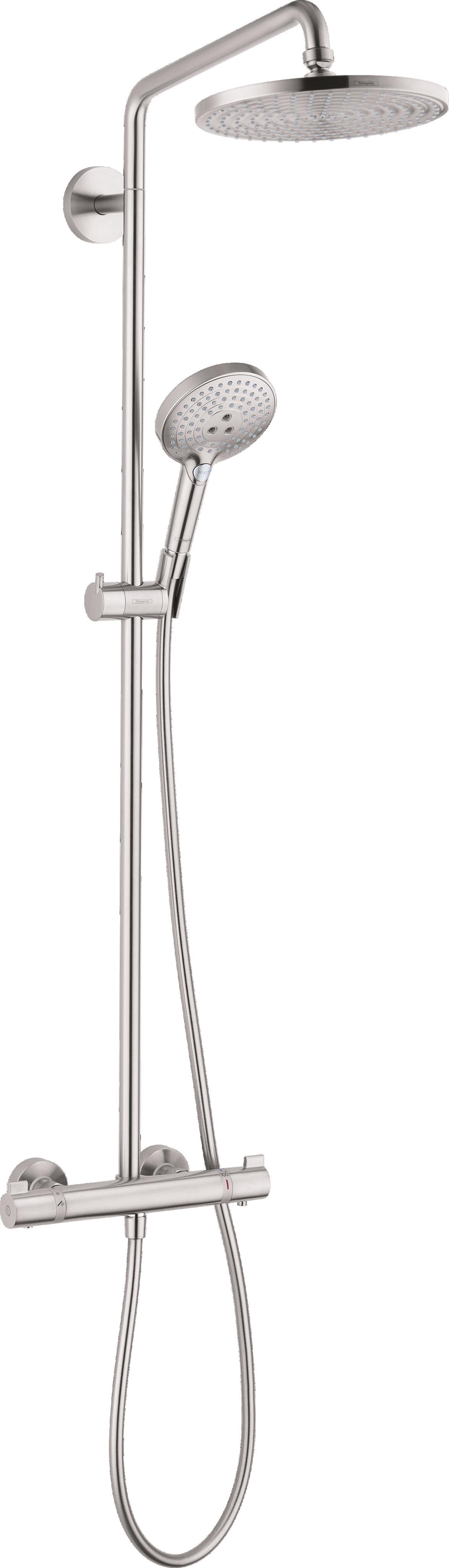 Hansgrohe Showerpipe 240 1-Jet, 2.5 GPM