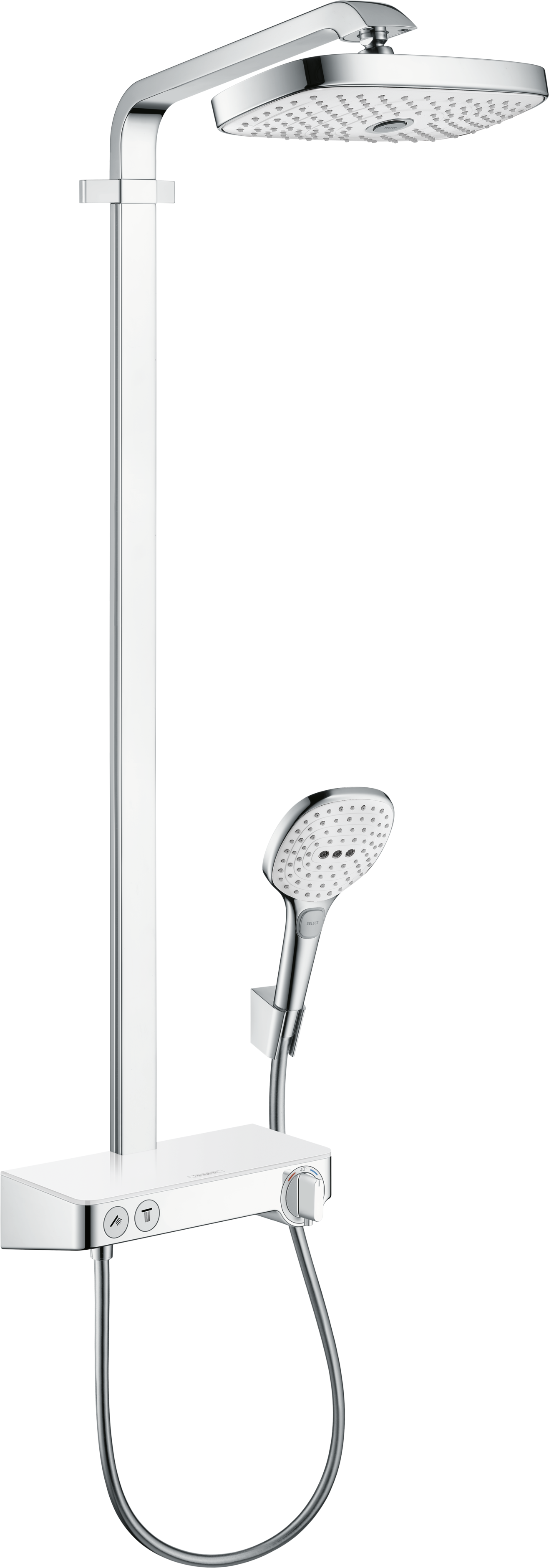 Hansgrohe Showerpipe 300 with Select Shower Controls, 2.0 GPM