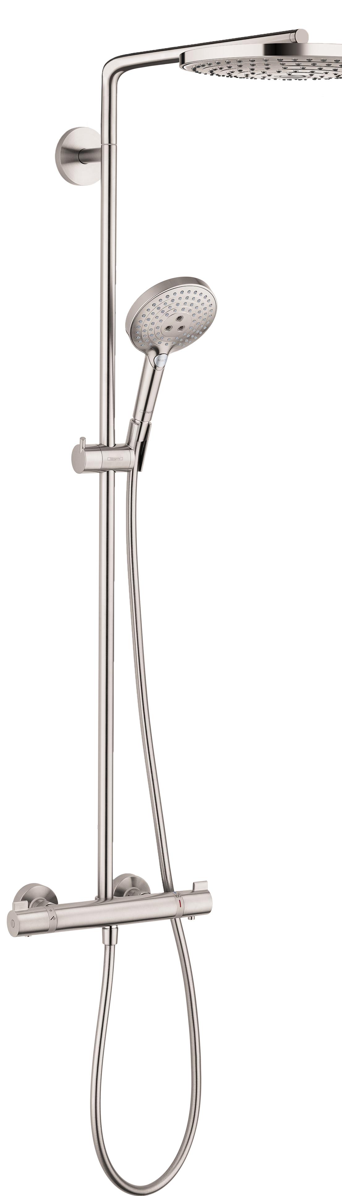 Hansgrohe Showerpipe 240 2-Jet, 2.5 GPM