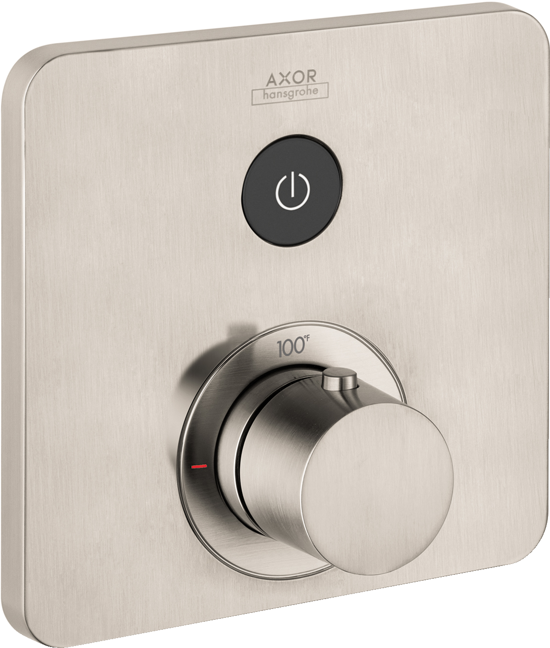 Axor AXOR ShowerSelect SoftCube Thermostatic 1-Function Trim