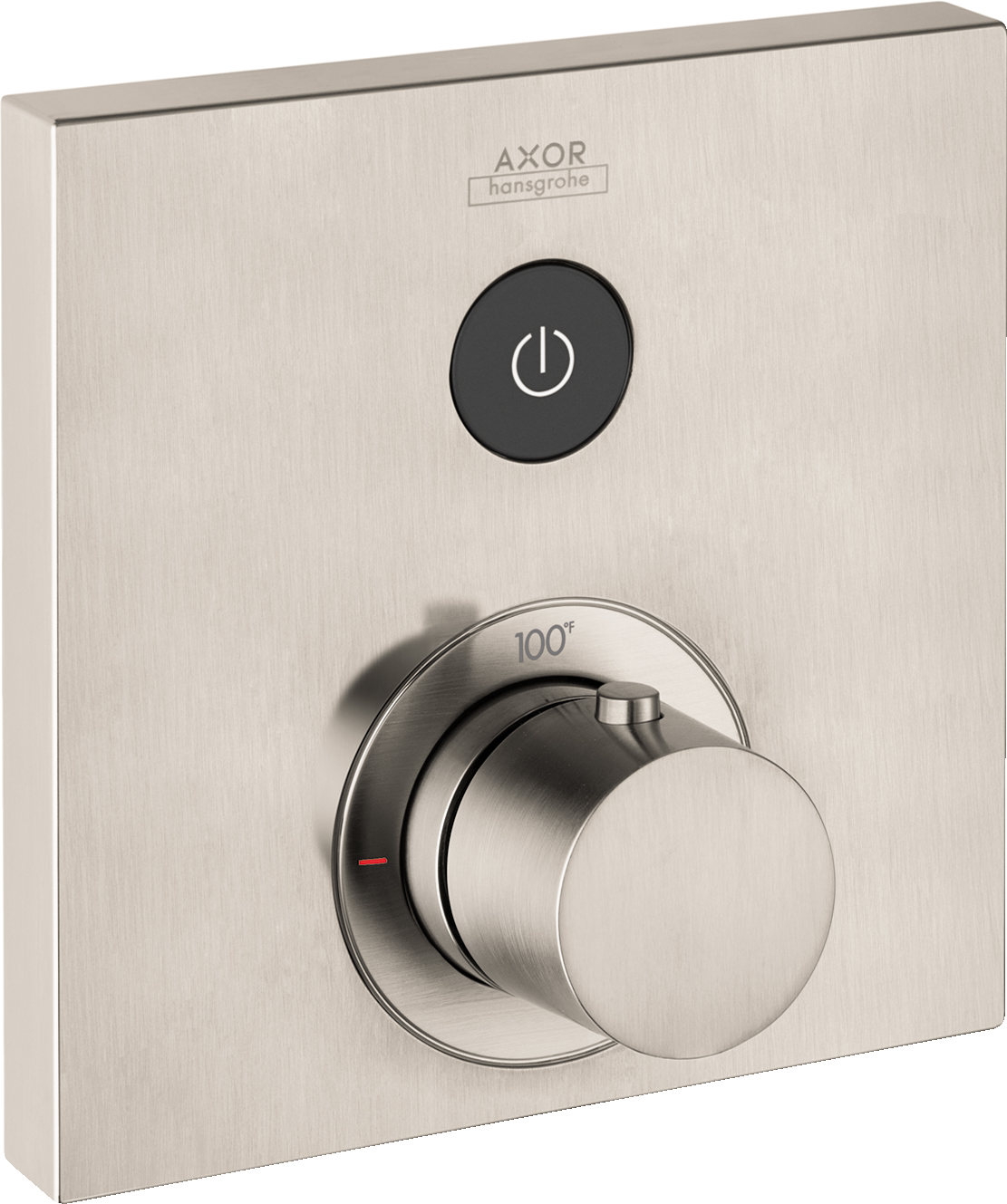 Axor AXOR ShowerSelect Square Thermostatic 1-Function Trim